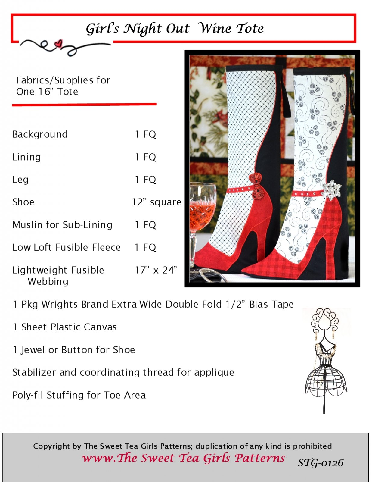 Girl's Night Out - Downloadable PDF