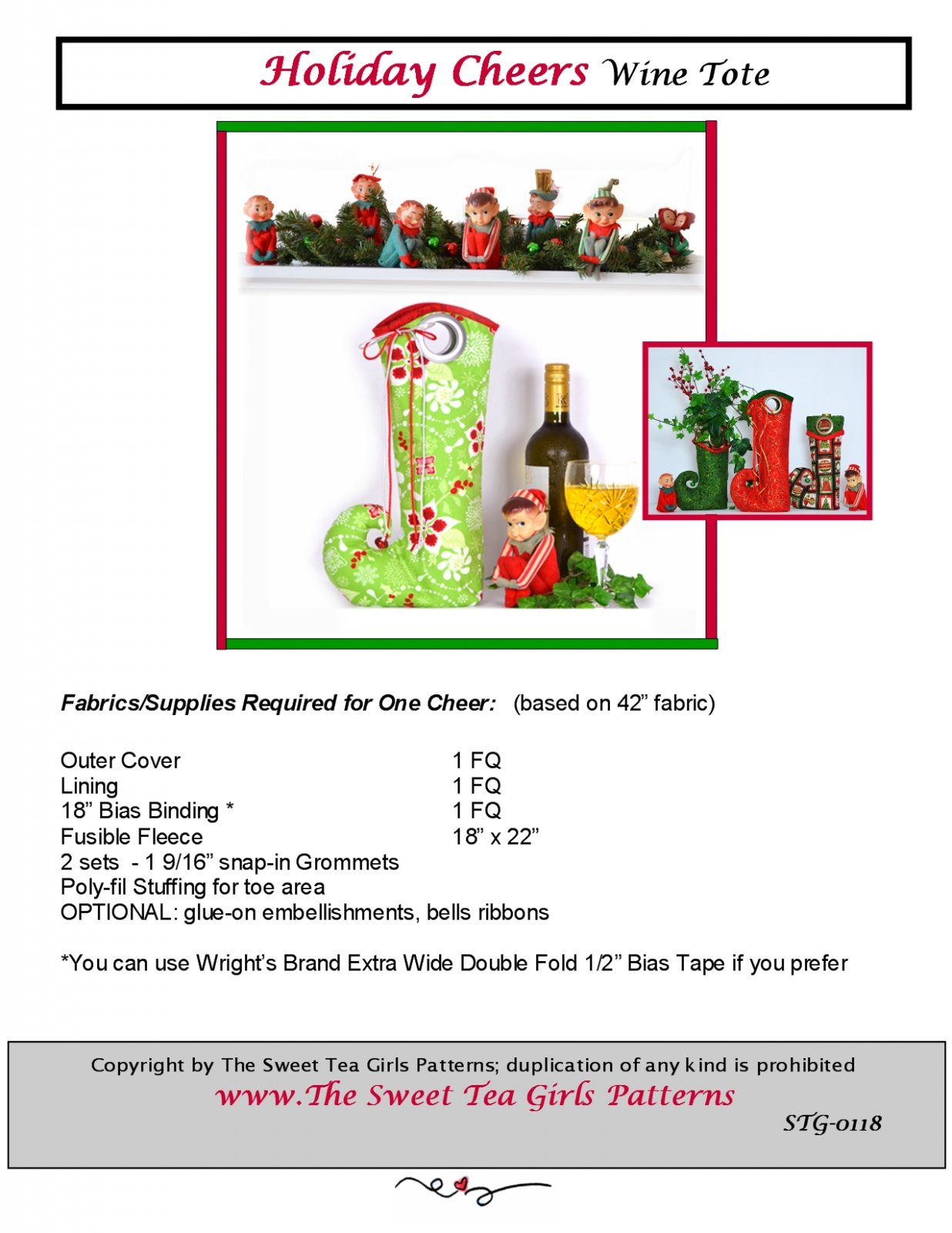 Holiday Cheers - Downloadable PDF