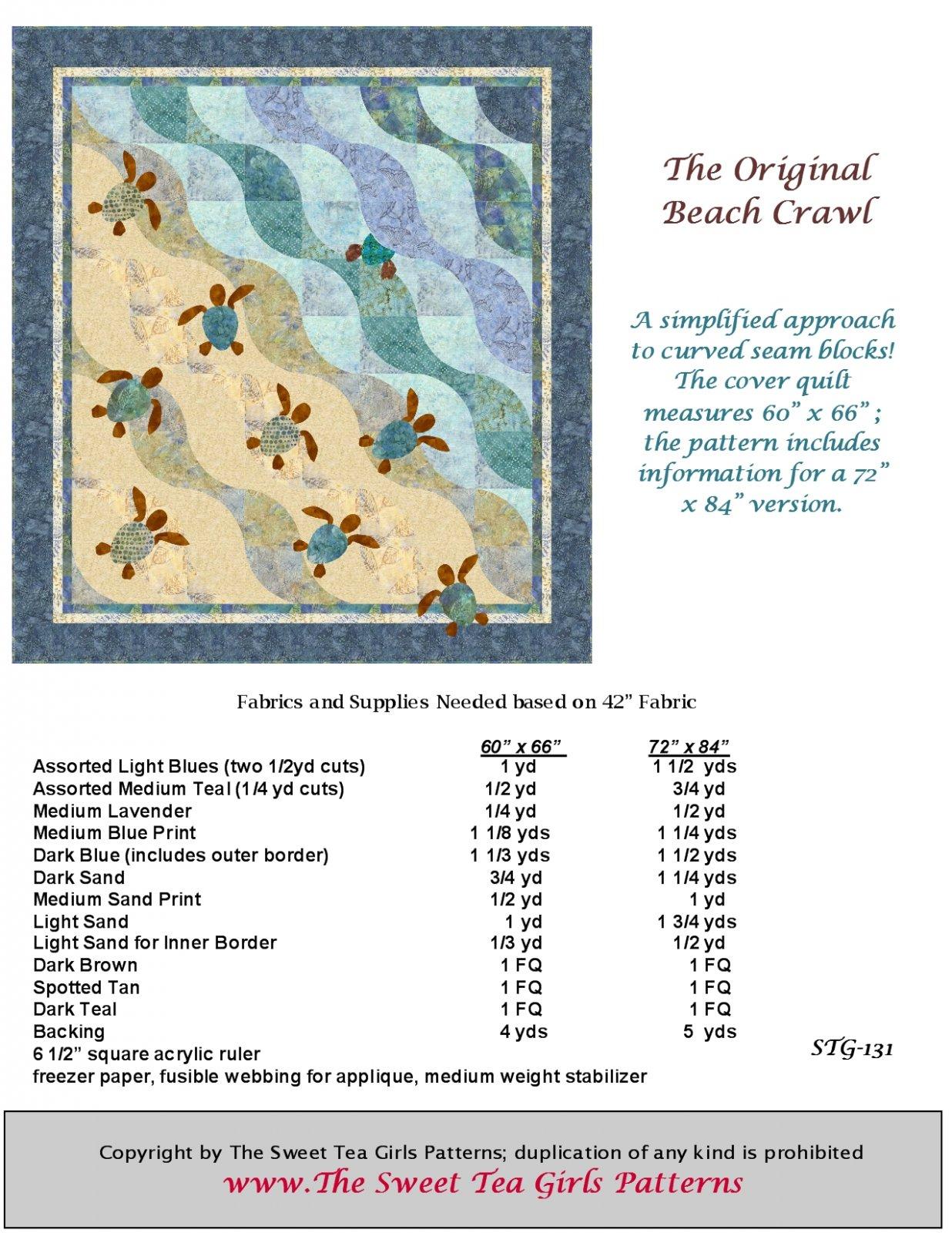 The Original Beach Crawl  Downloadable PDF