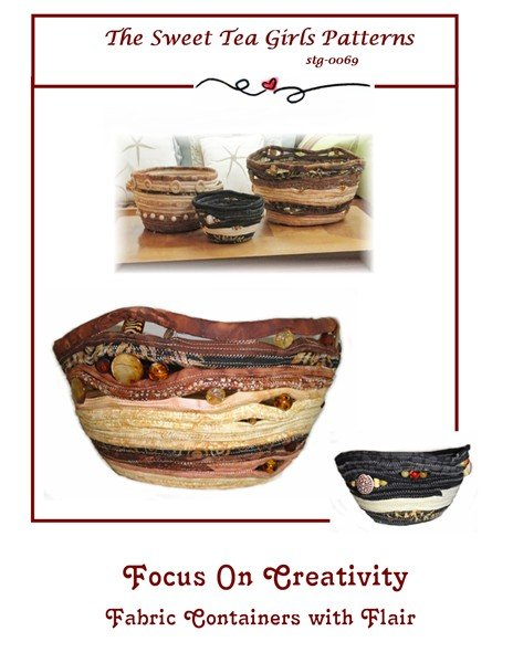 Focus on Creativity Fabric Container