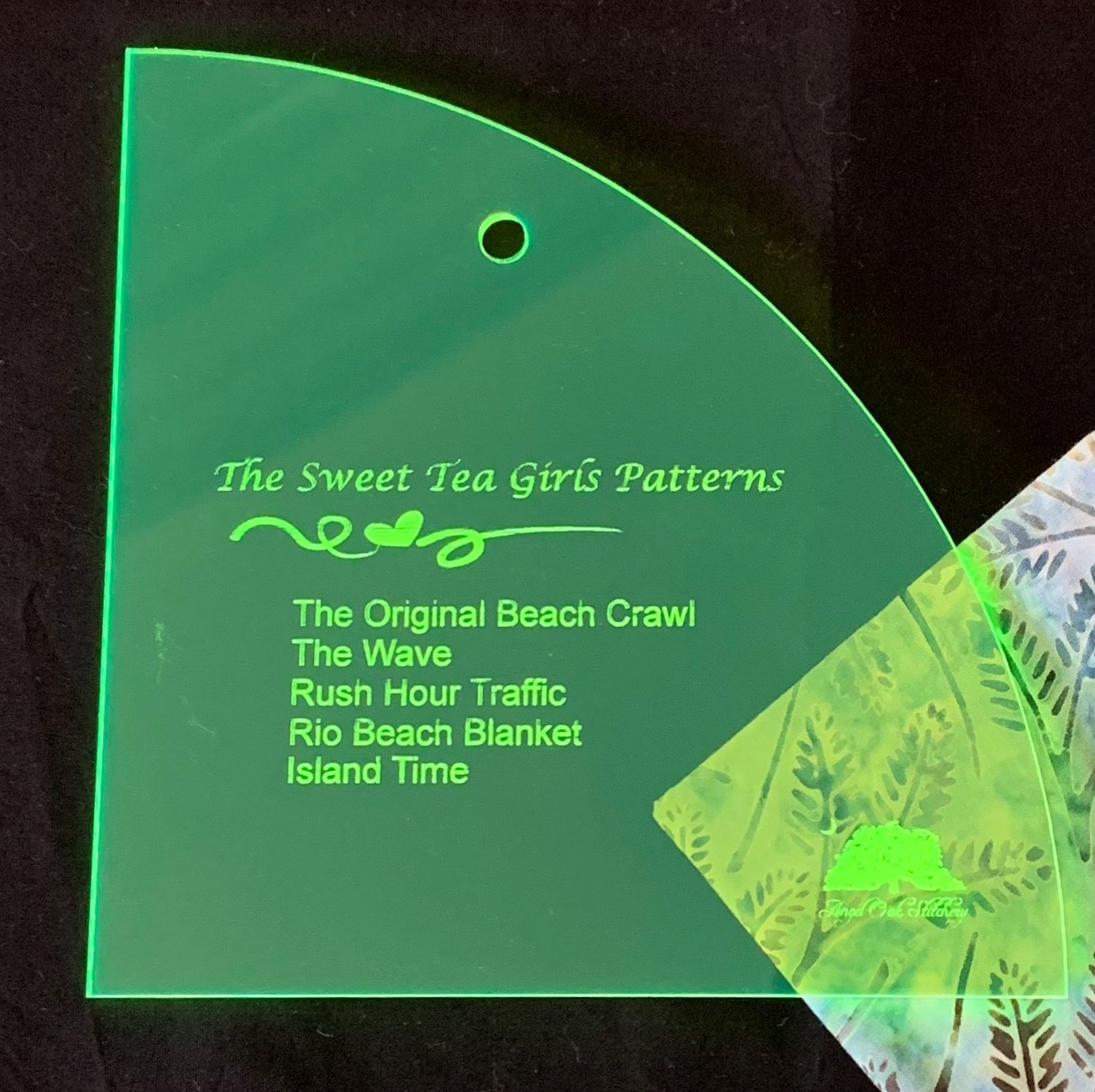 STG-0131T Curved Template