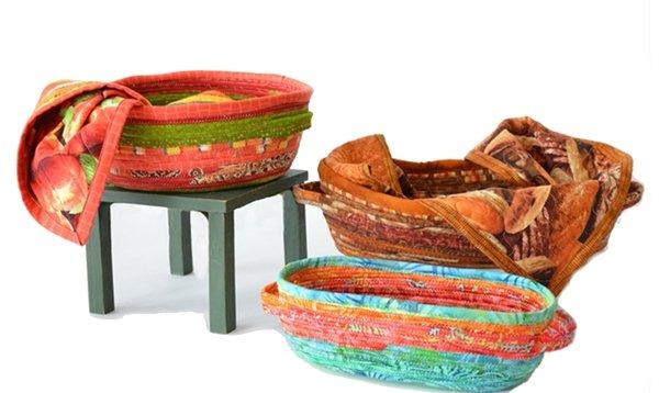 Fabric Bread Basket