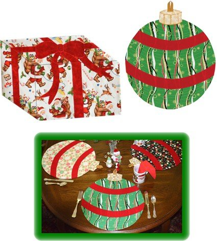 Table Presence Festive Placemats - Downloadable PDF