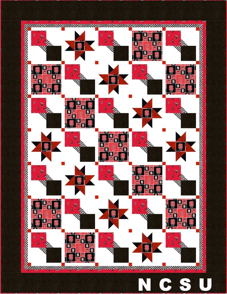 A Quilt for the Die-Hard Fan!