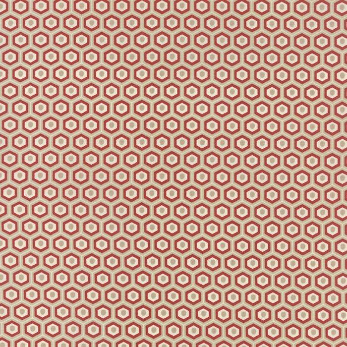 Red White & Free Stone Hexigons