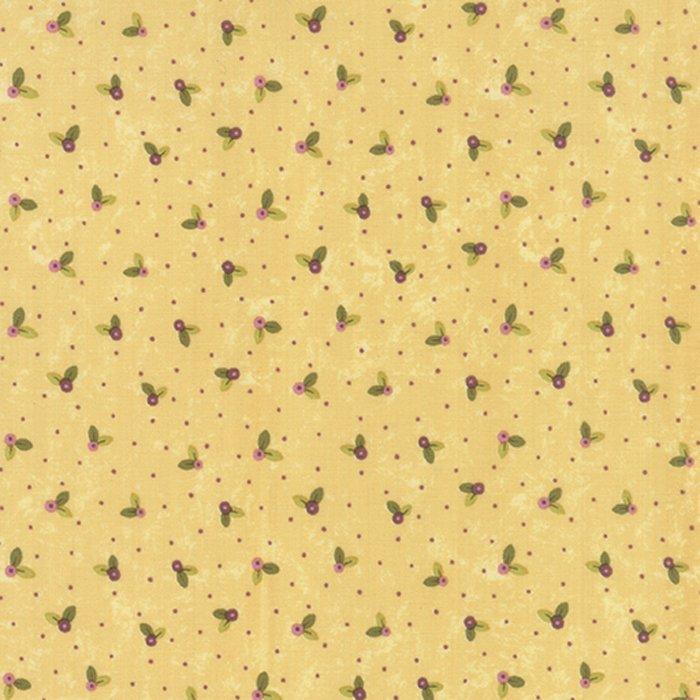 Moda Prints Charming - Cream Buds 17845-16