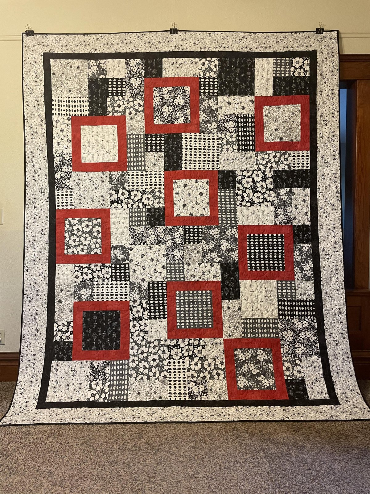 Illustrations Quilt Kit  88 x 106 inches