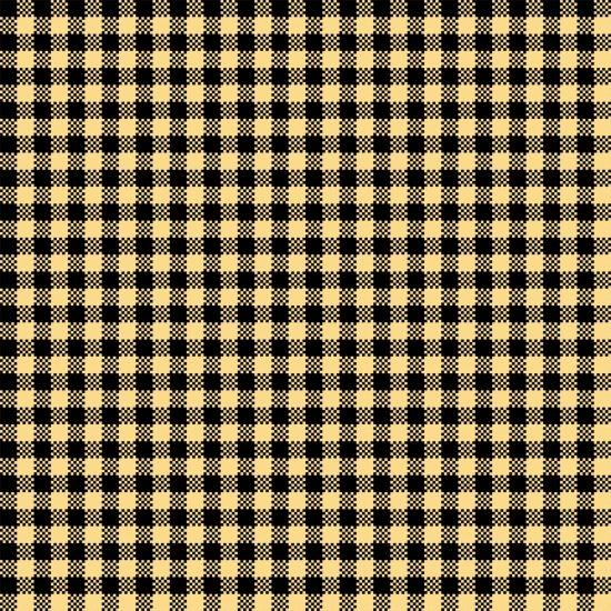 Sew Bee It - Black/Yellow Check