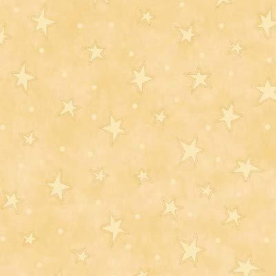Kitty Kat Kapers Pale Gold Stars