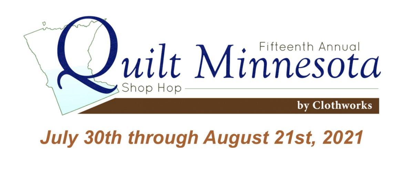 2021 Quilt Minnesota 10-inch squares