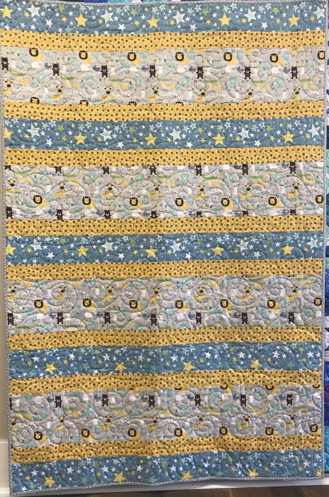 Quilt Kit * Sweet Baby Boy * 40 x 60