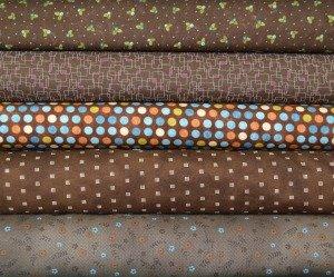 Brown Fabric Bundle