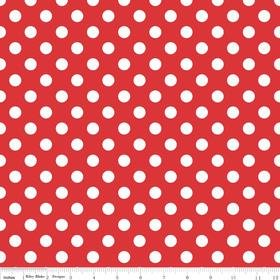 Twice as Nice Spice Dots Red