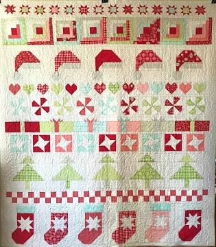 Quilt Kit * Christmas Cheer * 78 x 88