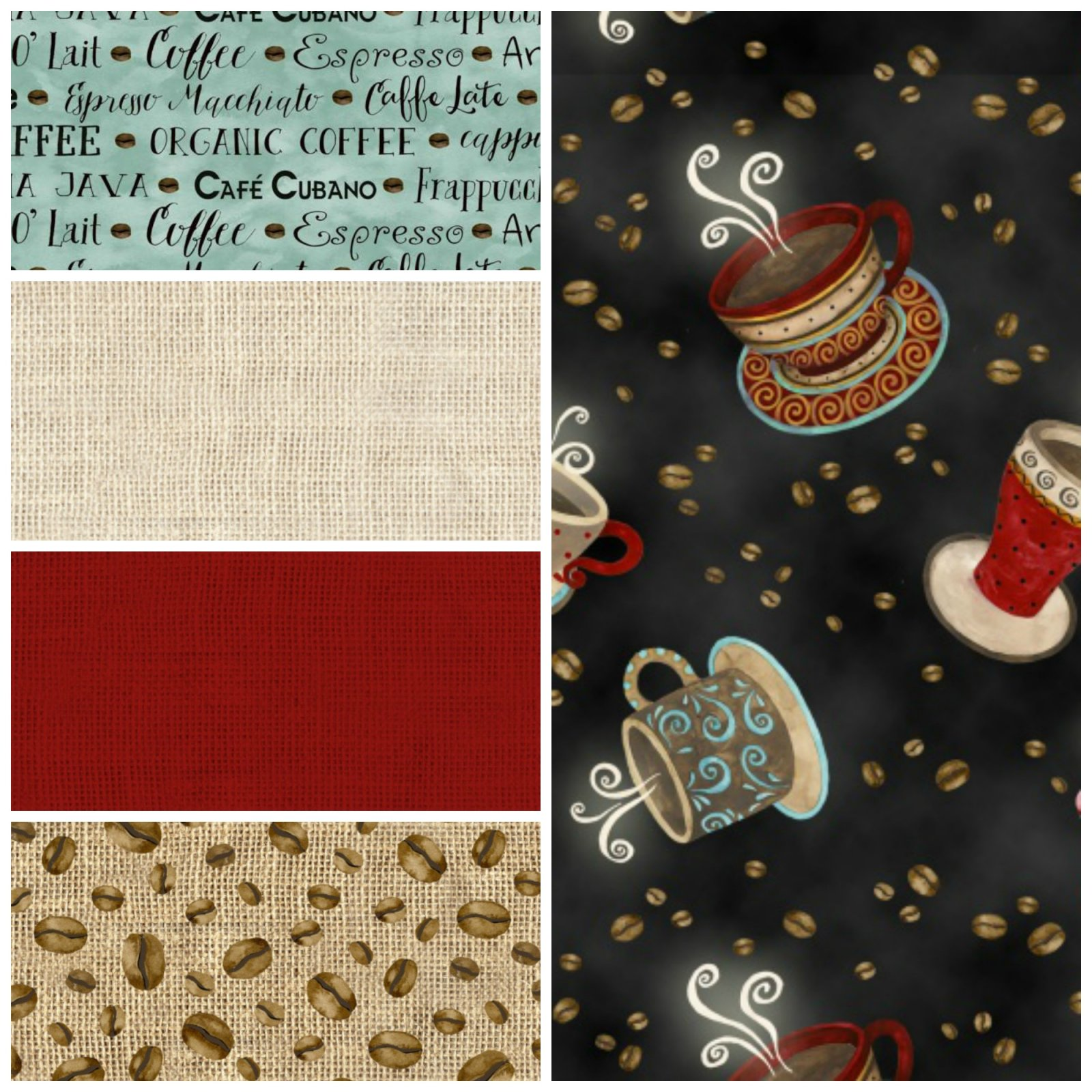 Coffee House - Fat Quarter Bundle