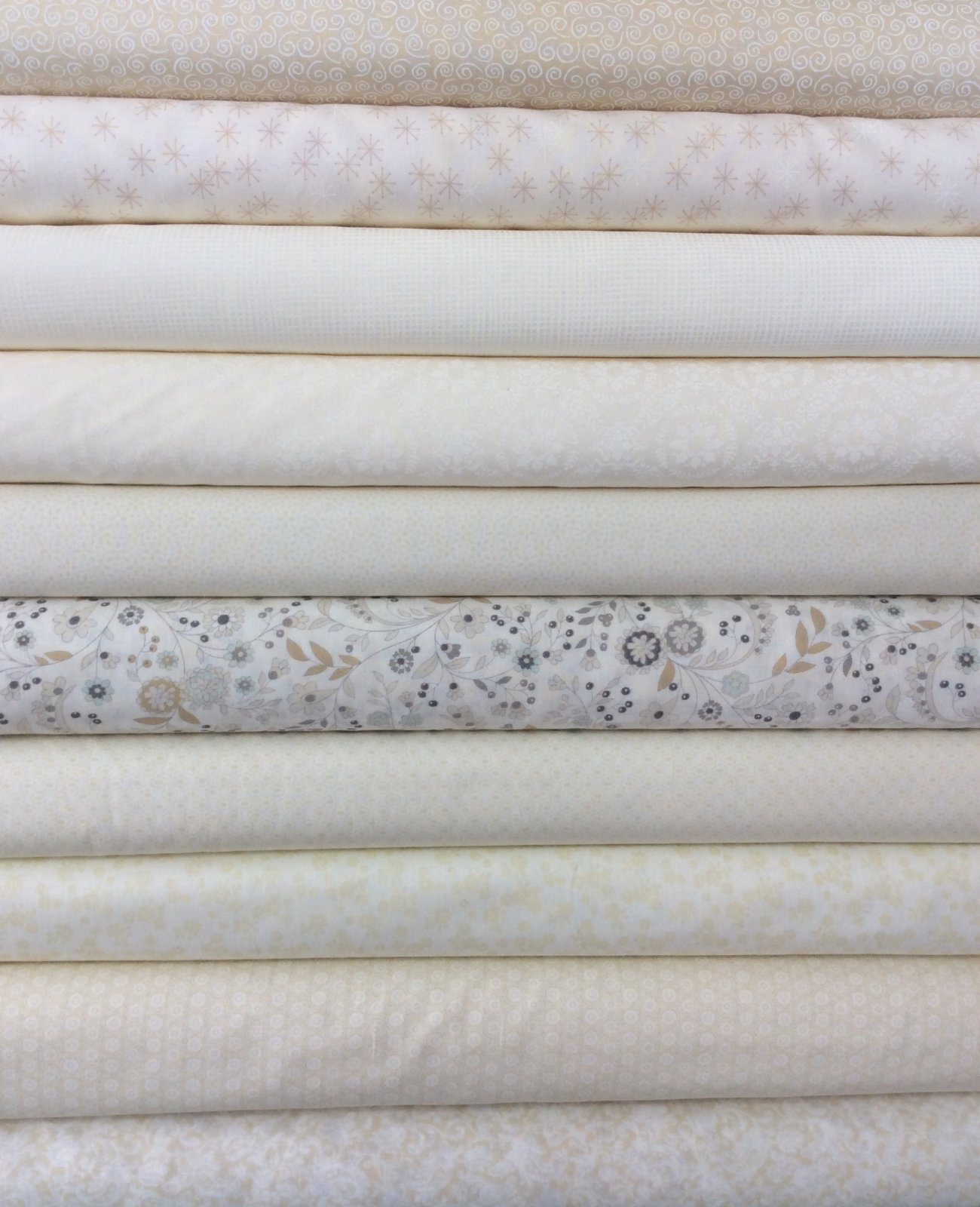 * Low Volume - Cream - Fat Quarter Bundle