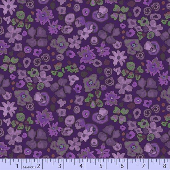 Las Flores - Small purple flower