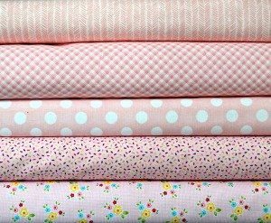 Light Pink Fabric Bundle