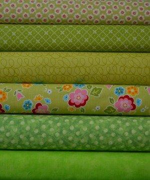 Lime Fabric Bundle