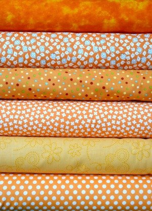 Orange Fabric Bundle
