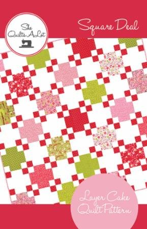 Quilt Kit * Square Deal * Twin size * Just Another Walk Collection