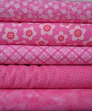 Pink Fabric Bundle