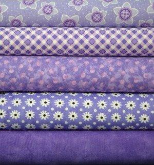 Purple Fabric Bundle