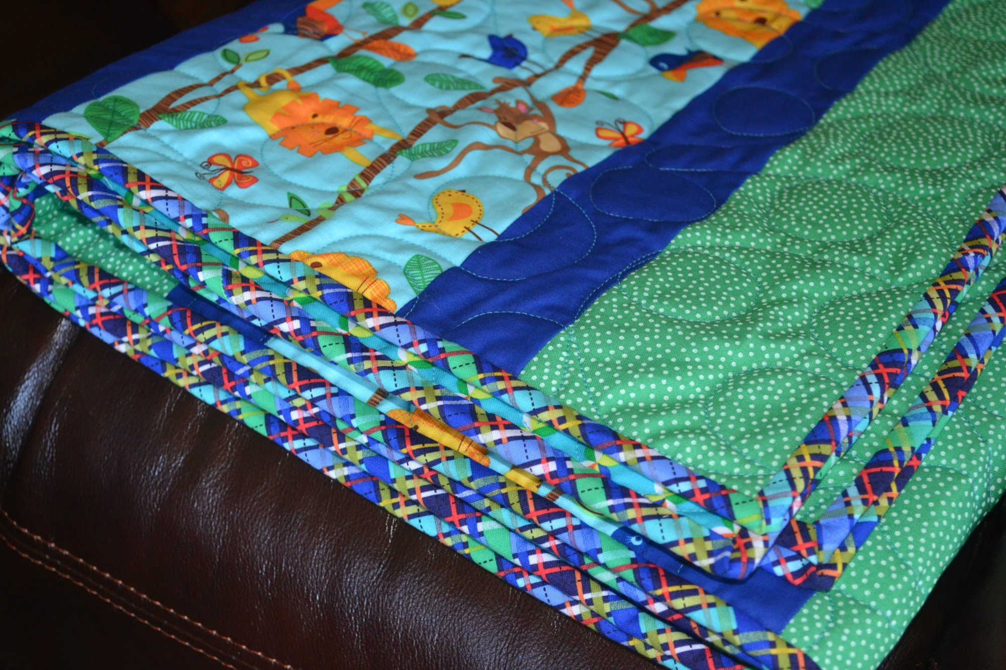 Quilt Kit * Quick and Easy Baby Quilt * For Boys