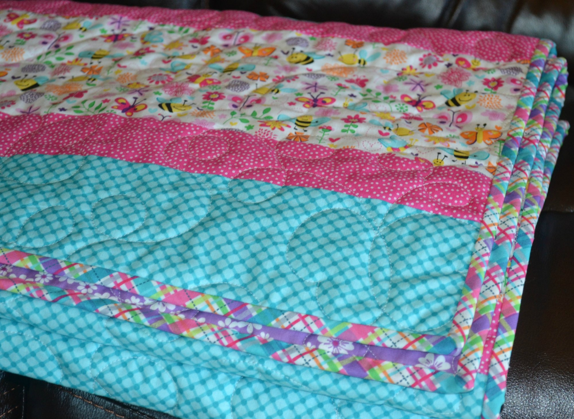 Quilt Kit * Quick and Easy Baby Quilt * For Girls