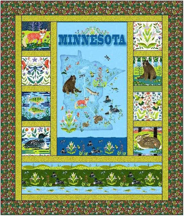 2020 Quilt MN panel quilt kit