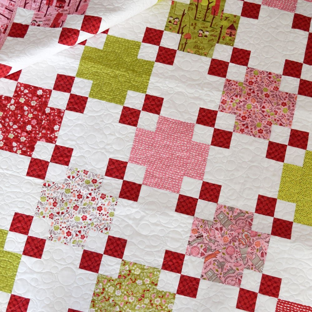 Quilt Kit * Square Deal * 56 x 88 inches * Just Another Walk Collection
