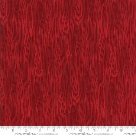 Hearthside Holiday - Deb Strain Seasonal Christmas Woodgrain Red