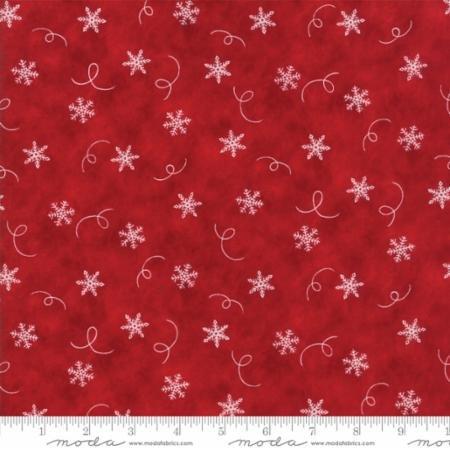 Hearthside Holiday - Deb Strain Seasonal Christmas Snowflake Swirl Red