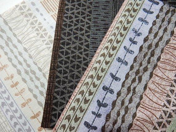 Yoko Saito-Etoffe Imprevue Stripes