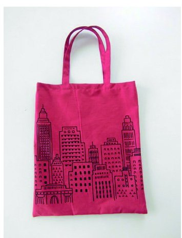 Free Etoffe Imprevue Tote Bag Pattern (Lecien)