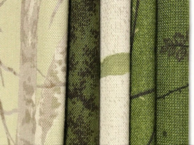 Yoko Saito - Centenary 24 - Fat Quarters (Green) cotton 5