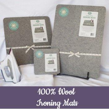 100% Wool Ironing Mat (medium)