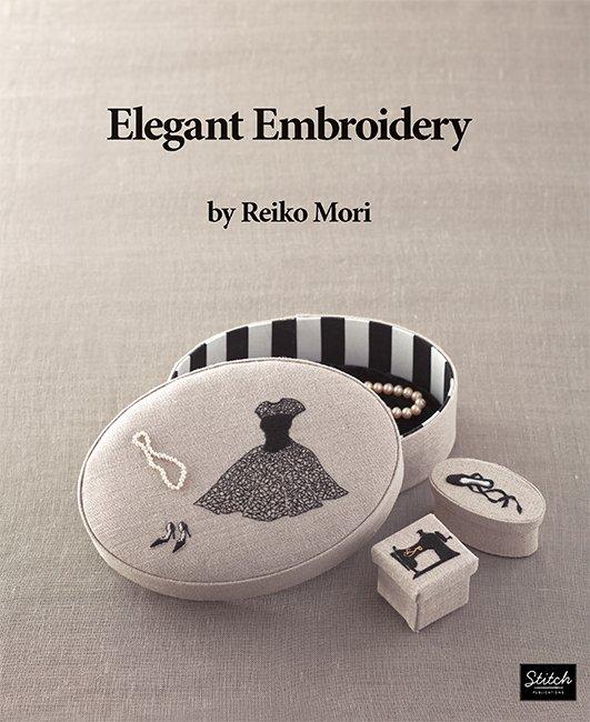 Elegant Embroidery By Reiko Mori