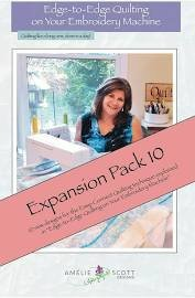 Edge to Edge Quilting Expanded Pack 10 ASD226