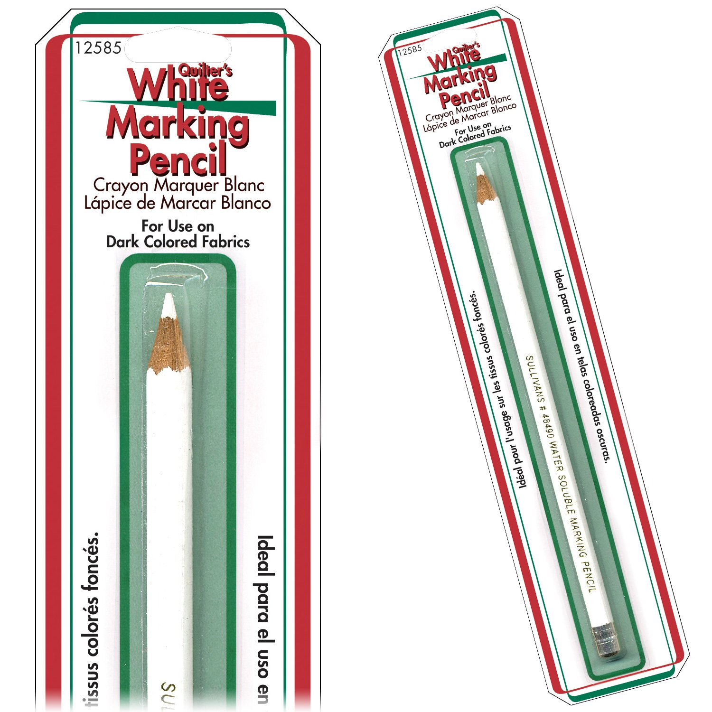 White Marking Pencil 12585