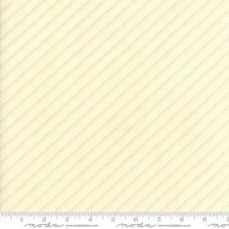 14853 23 Farmhouse Reds Floral Bias Stripe Ivory Minick Simpson