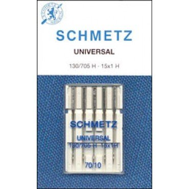 #1708 Schmetz Machine Needle Universal 5 Pk Sz 70/10