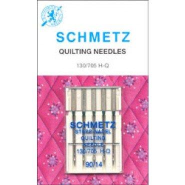 #1719 Schmetz Machine Needle Quilting 5 Pk Sz 90/14