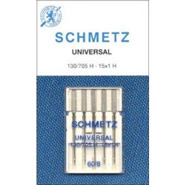 #1724 Schmetz Machine Needle Universal 5 Pk Sz 60/8