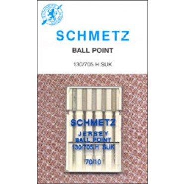 #1725 Schmetz Machine Needle Ballpoint  Sz 10/70