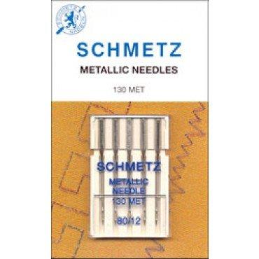 #1743 Schmetz Machine Needle Metallic 5 Pk Sz 80/12