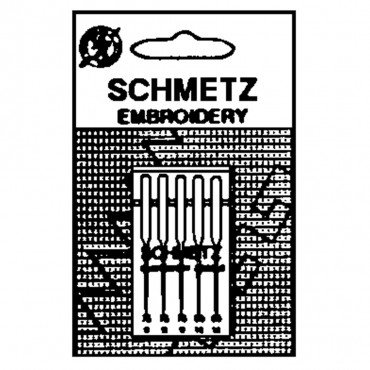 #1745 Schmetz Machine Needle Embroidery 5 Pk Sz 75/11