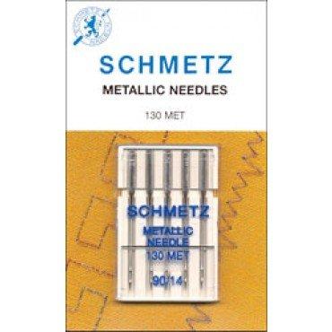#1752 Schmetz Machine Needle Metallic 5 Pk Sz 90/14