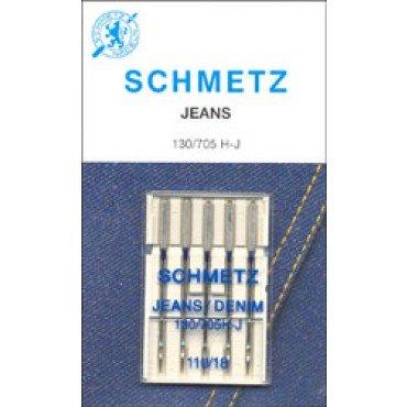 #1783  Schmetz Machine Needle Denim 5 Pk Sz 110/13
