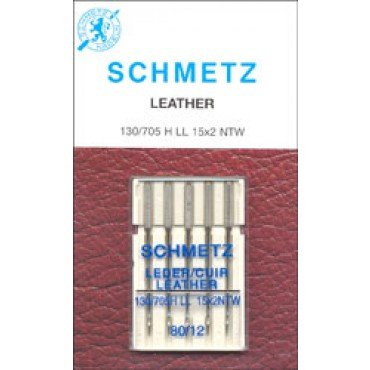 #1784 Schmetz Machine Needle Leather 5 Pk 80/12